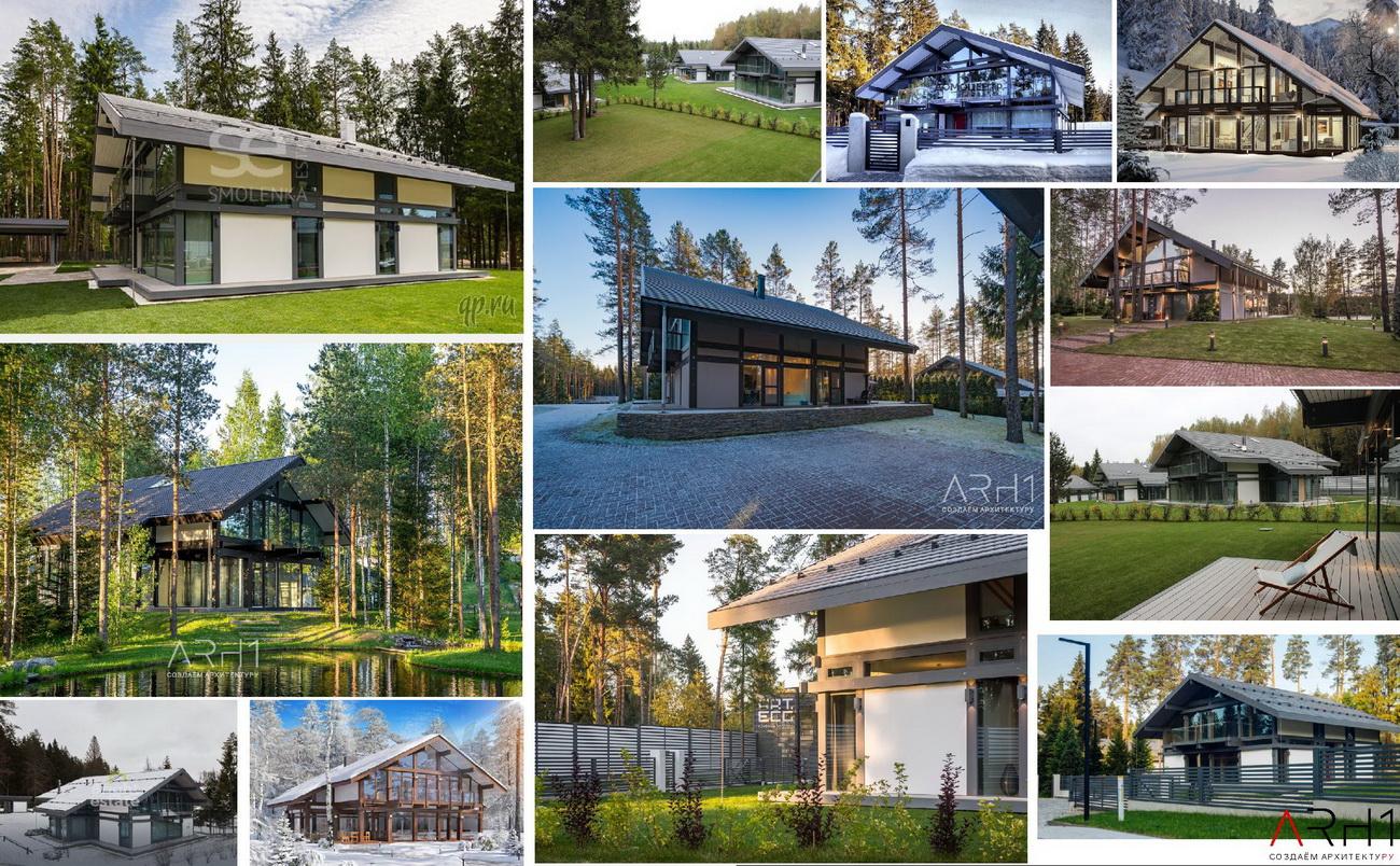 Проекты домиков для базы отдыха (турбазы) - АРХ1 Архитектура